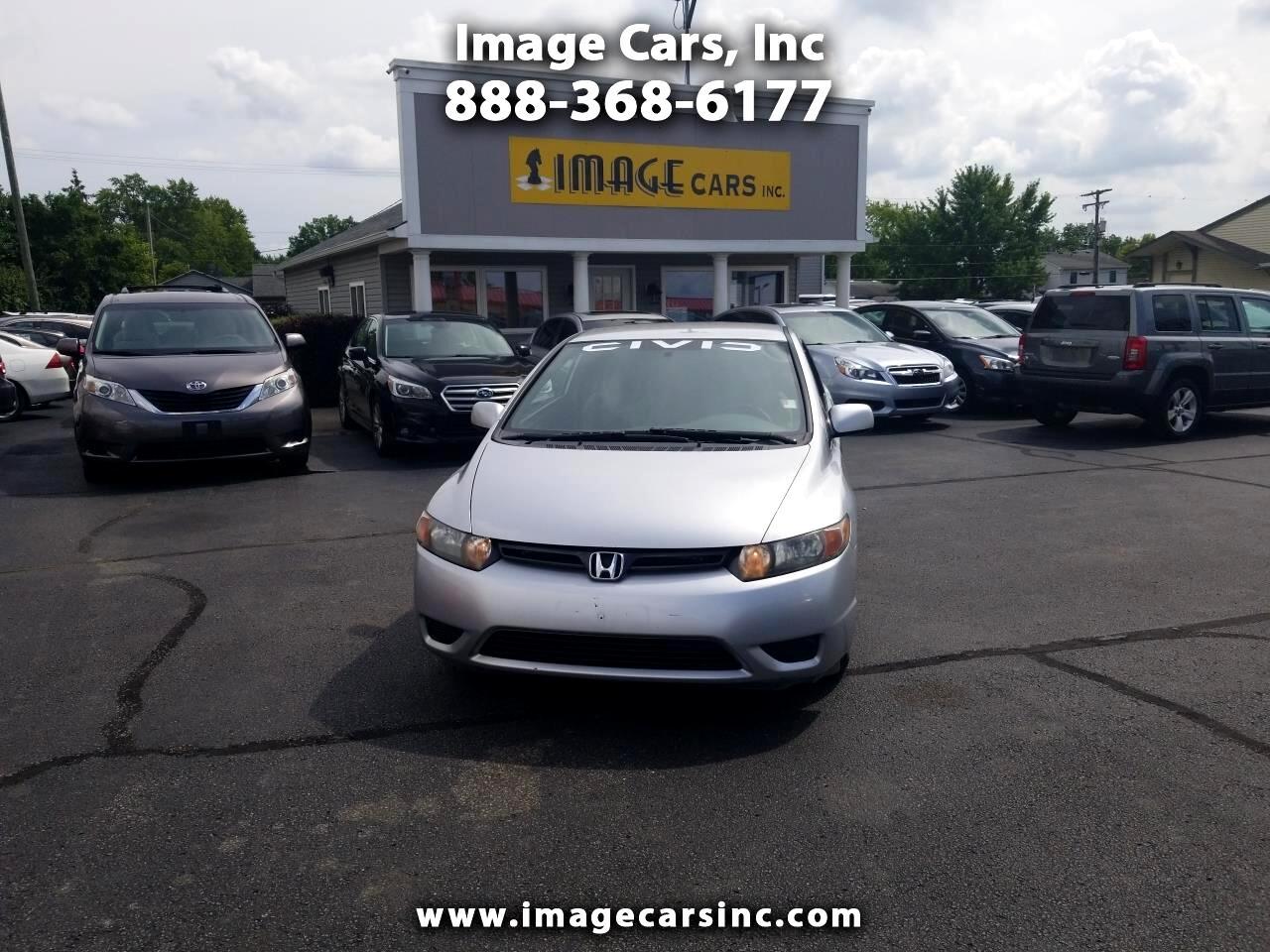 2008 Honda Civic LX coupe