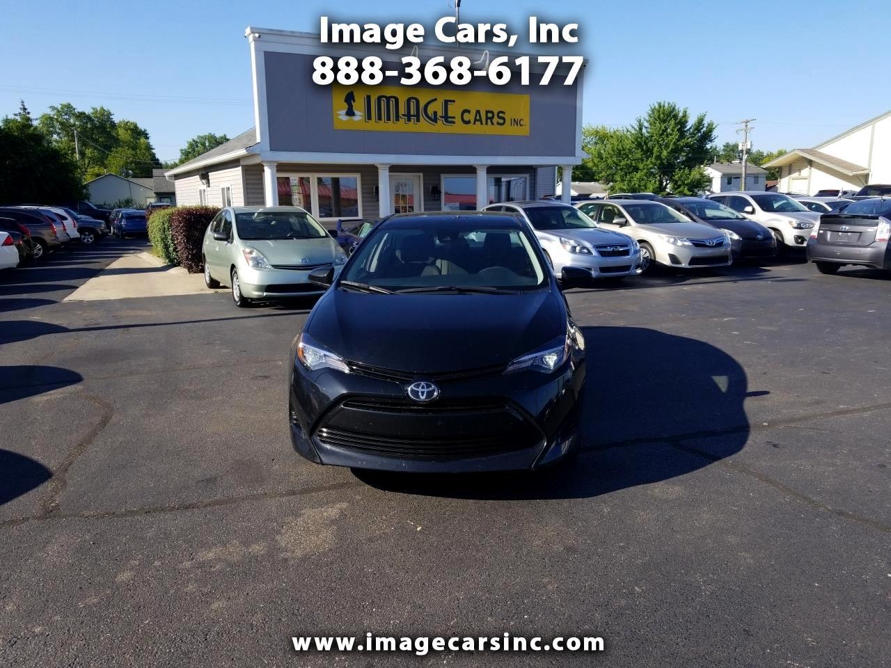 2018 Toyota Corolla 4dr Sedan LE Auto