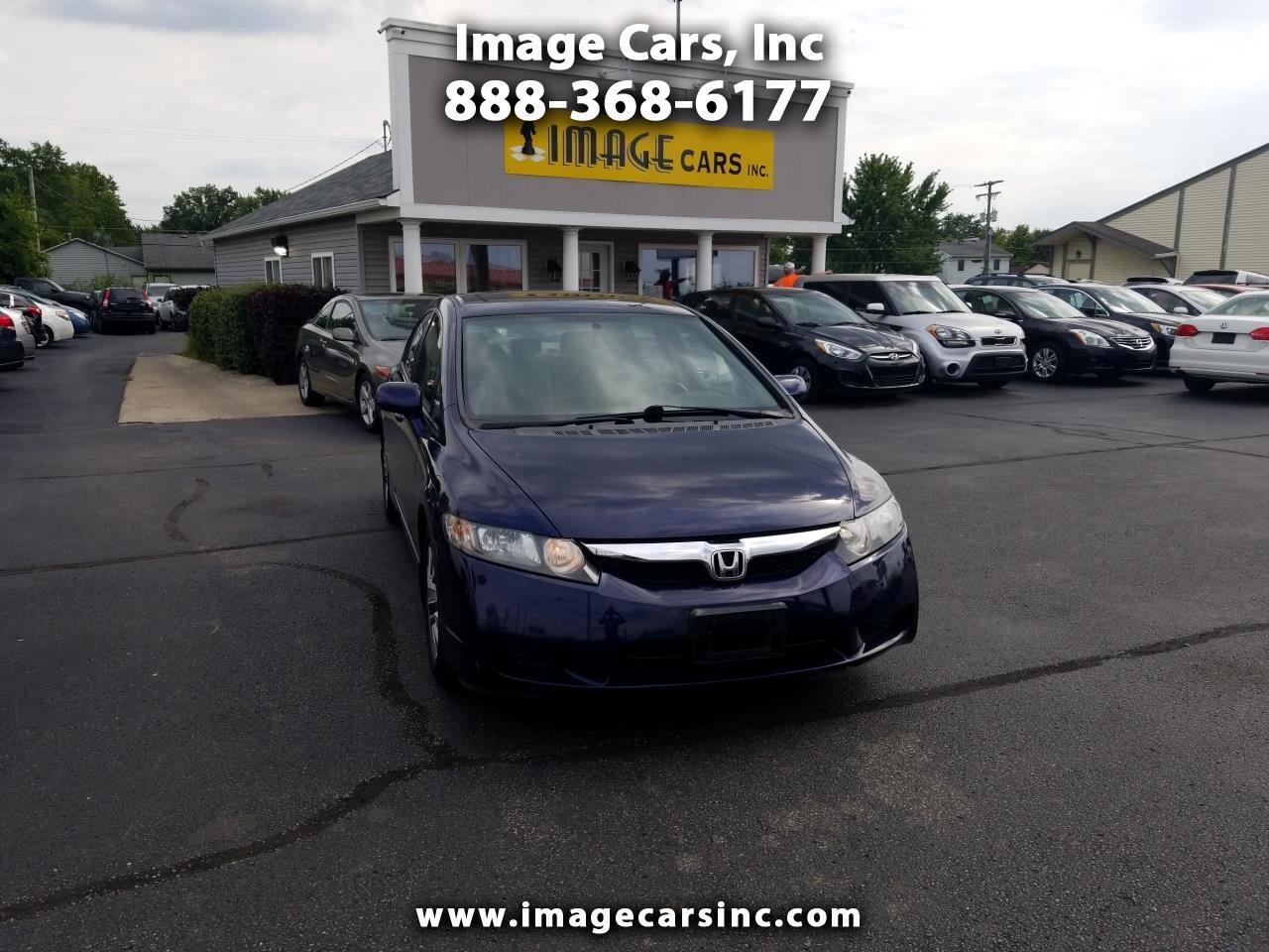 Honda Civic EX Sedan 5-Speed AT 2009
