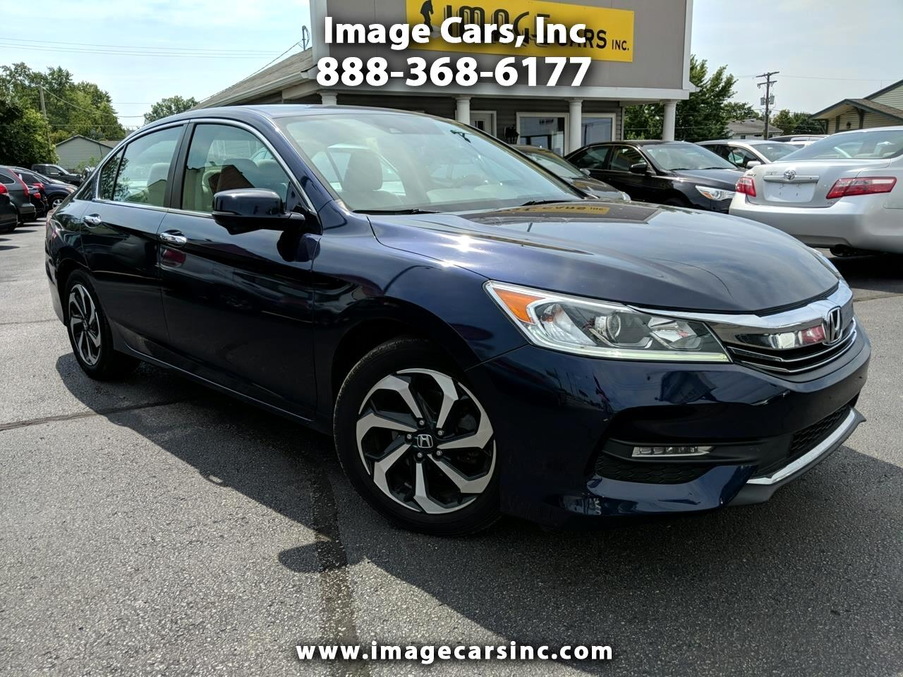 2017 Honda Accord EX Sedan AT with Side Curtain Airbags