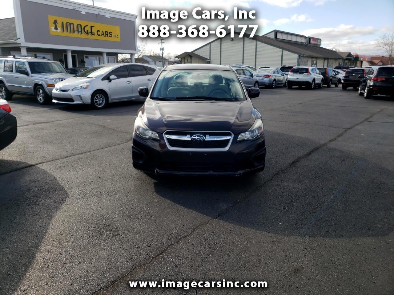 Subaru Impreza 2.0i Premium 4-Door 2012