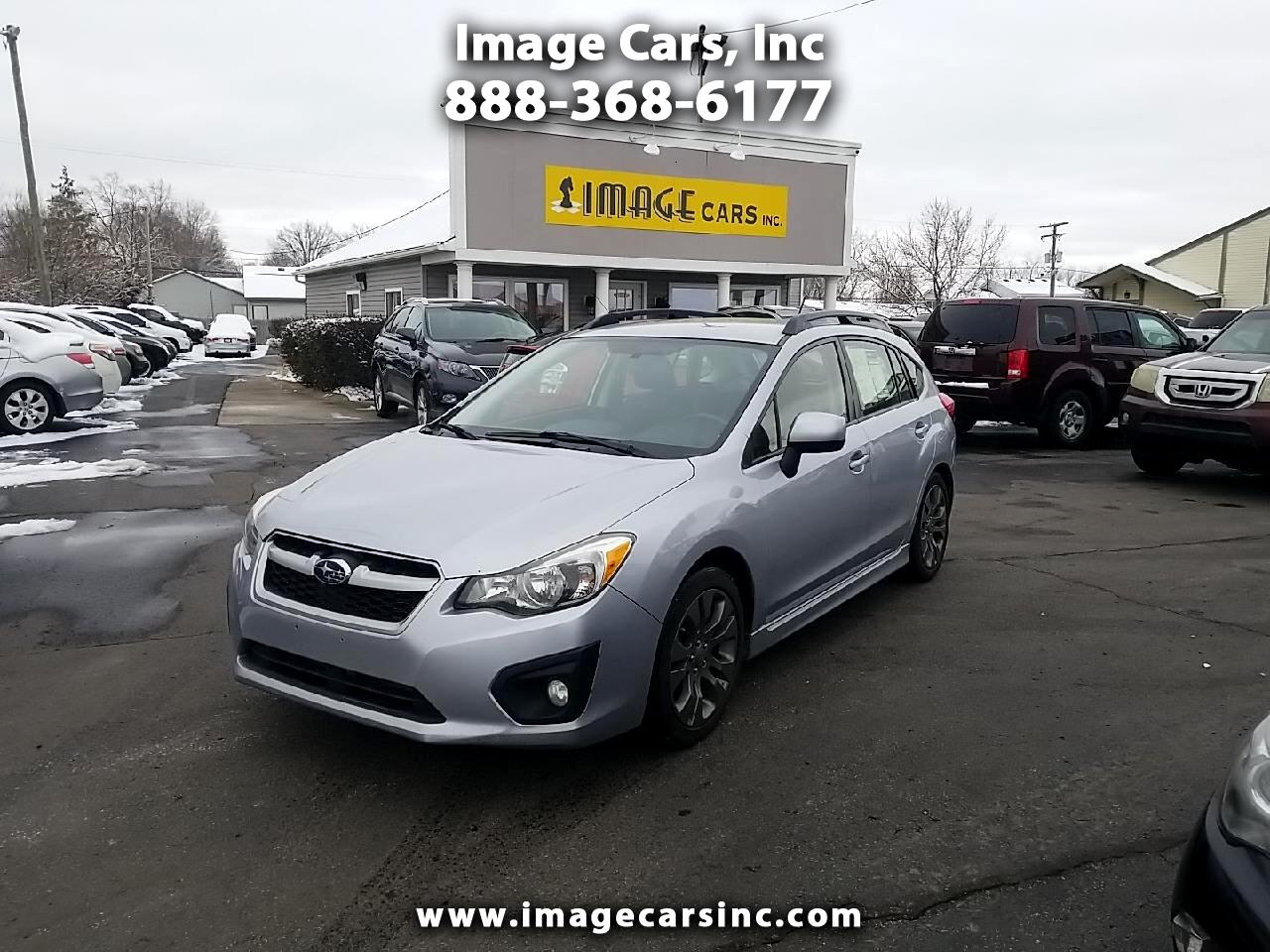 Subaru Impreza Wagon  2013