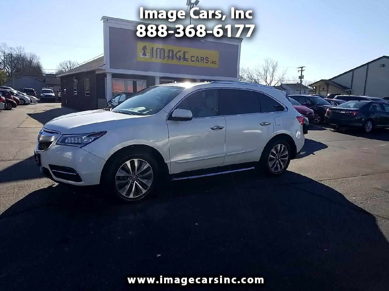Acura MDX FWD 4dr w/Tech/AcuraWatch Plus 2016
