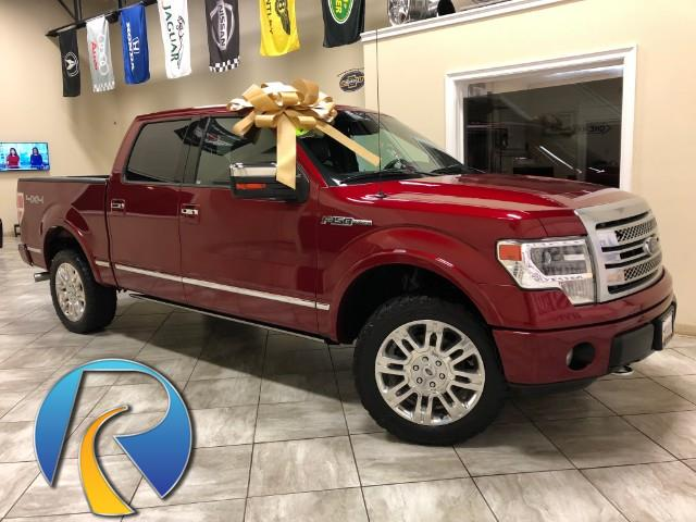 2013 Ford F-150 Platinum 4x4 Short Bed