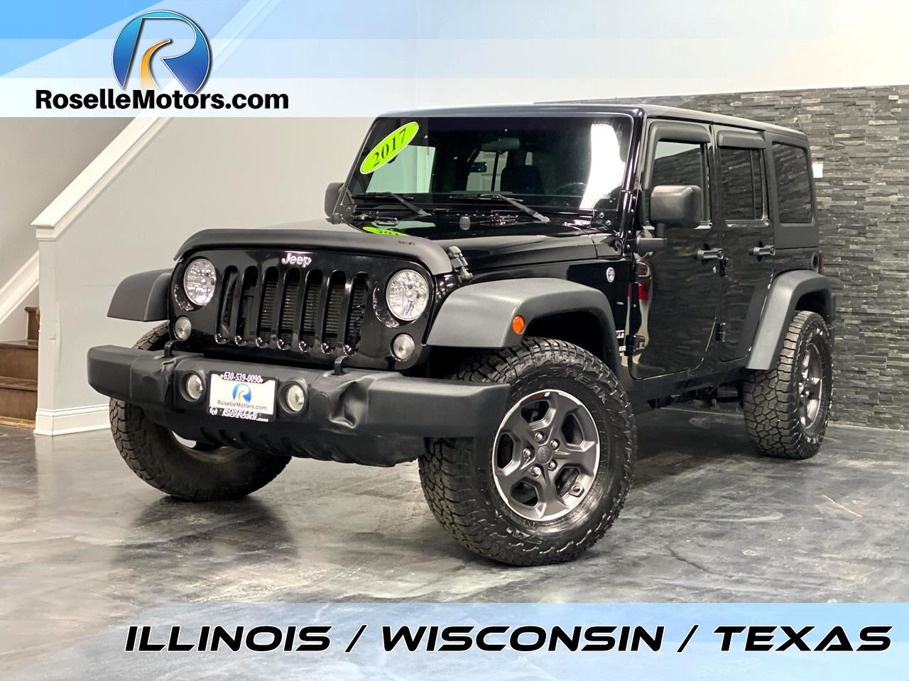 Jeep Wrangler Unlimited Sport 4x4 2017