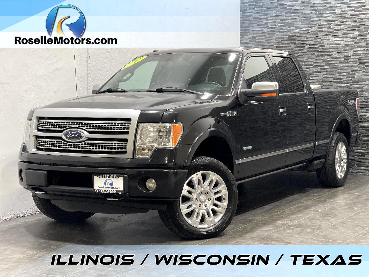 "Ford F-150 4WD SuperCrew 157"" Platinum 2012"