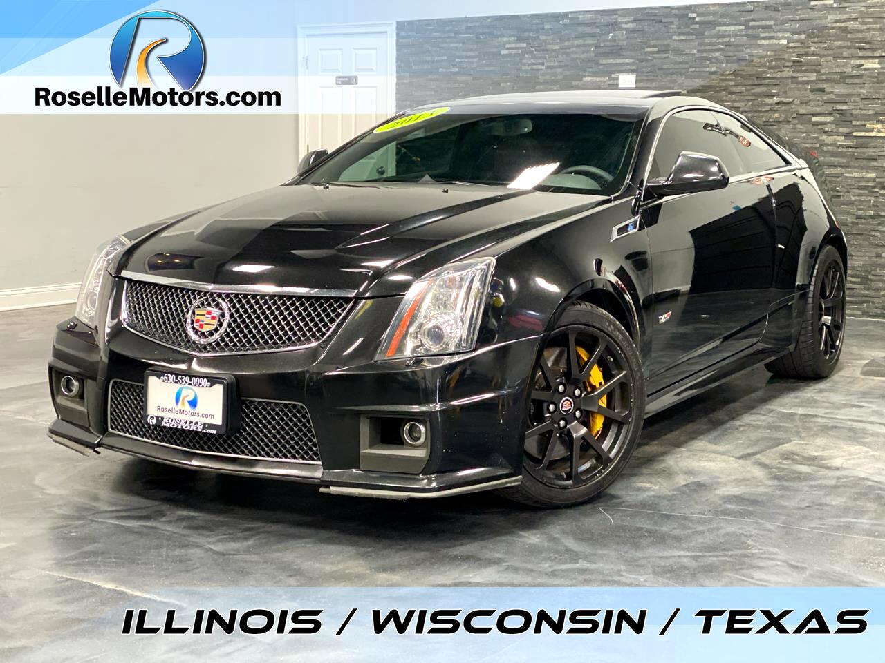 Cadillac CTS-V Coupe 2dr Cpe 2013