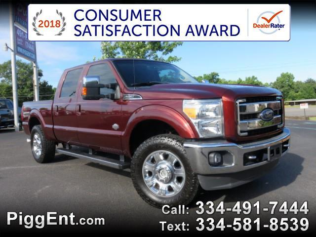 2015 Ford F-250 SD CREW CAB KING RANCH 4WD