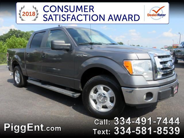 2012 Ford F-150 SUPERCREW XLT 2WD