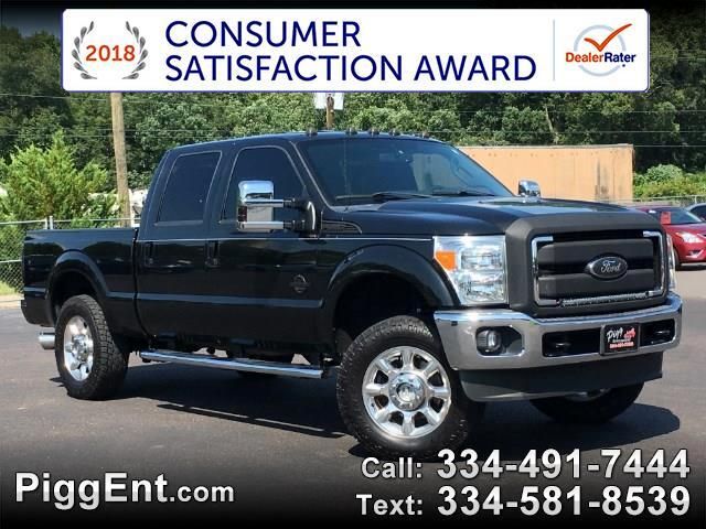 2013 Ford F-250 SD SD LARIAT CREW CAB 4WD