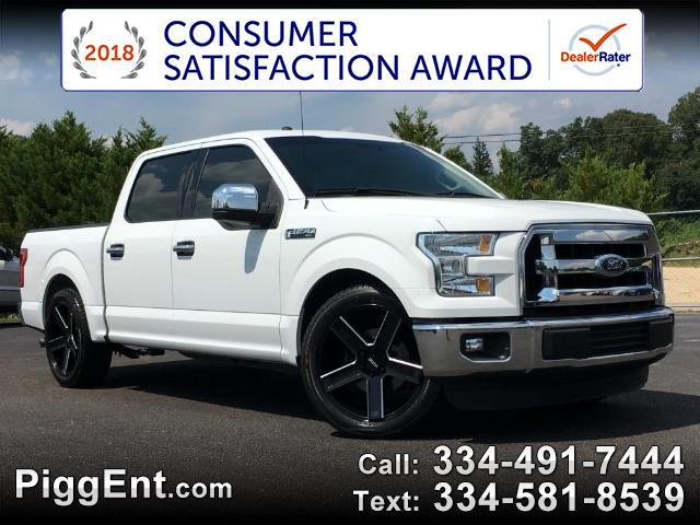 2016 Ford F-150 XLT SUPERCREW 2WD