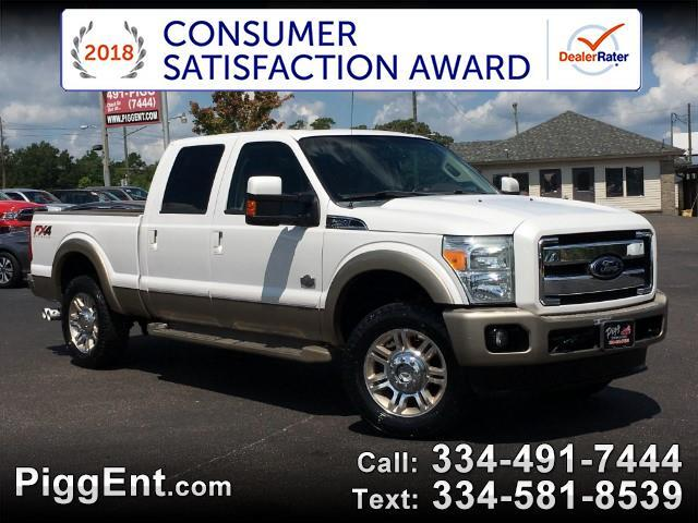 2012 Ford F-250 SD KING RANCH CREW CAB FX4 4WD