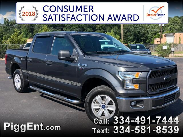 2016 Ford F-150 SUPERCREW XLT 2WD