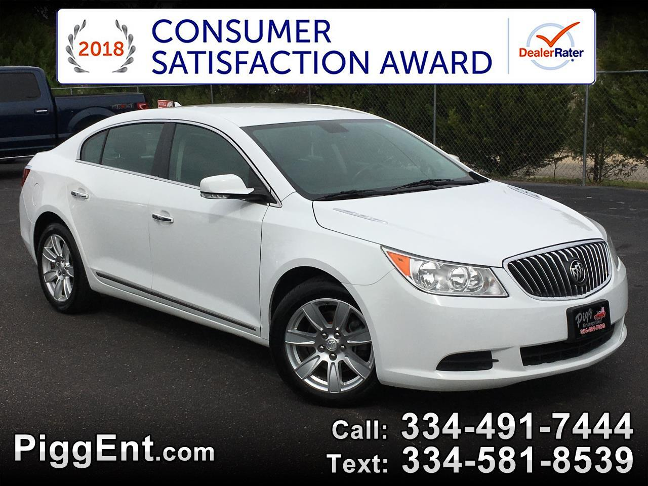 2013 Buick LaCrosse LEATHER V6