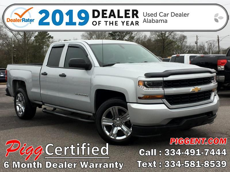 2017 Chevrolet Silverado 1500 DOUBLE CAB CUSTOM 2WD