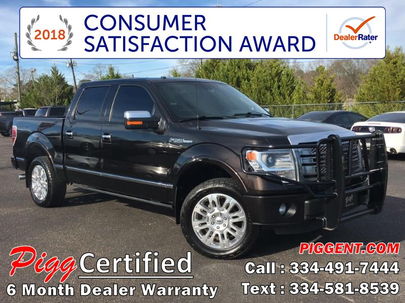2014 Ford F-150 SUPERCREW PLATINUM 2WD