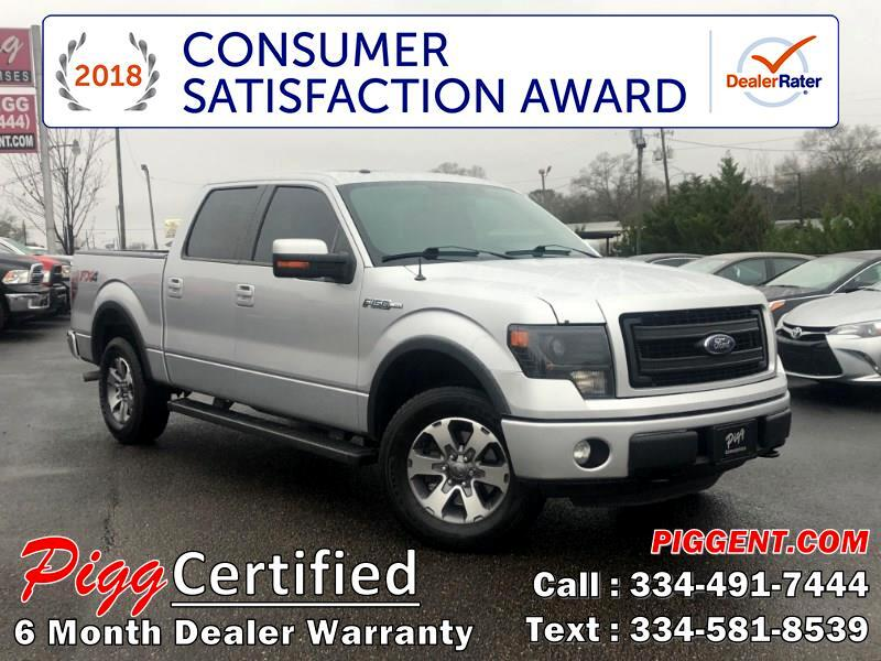 2013 Ford F-150 SUPERCREW FX4 4WD