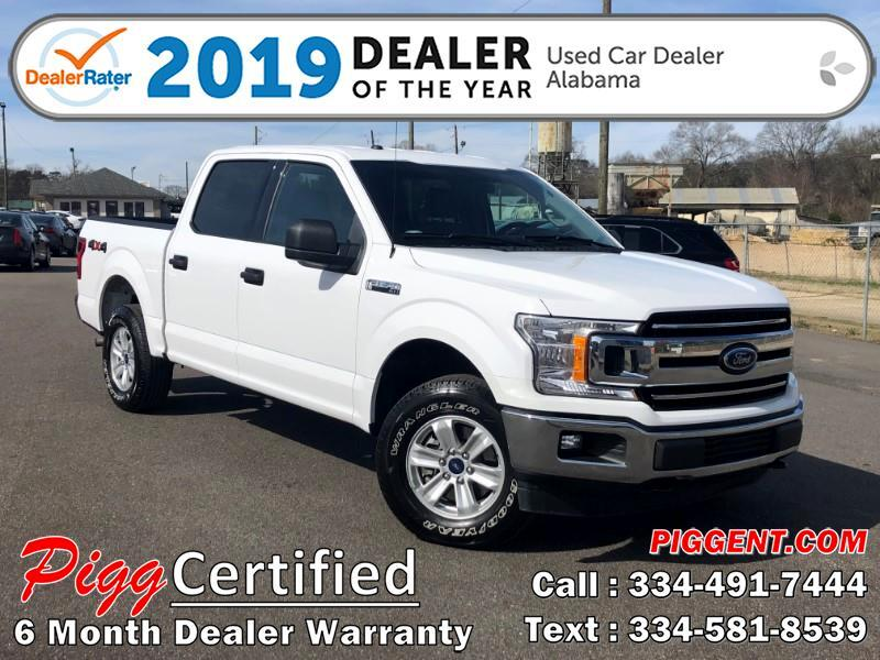 2018 Ford F-150 SUPERCREW XLT 4WD