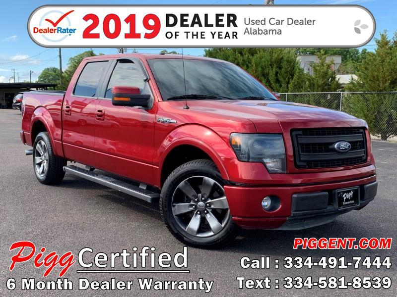 2013 Ford F-150 SUPERCREW FX2 2WD