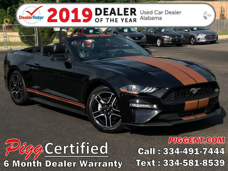 2018 Ford Mustang CONVERTIBLE ECOBOOST I4 TURBO