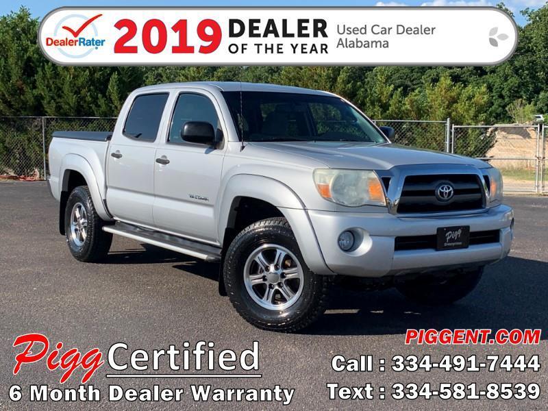 2010 Toyota Tacoma DOUBLE CAB PRERUNNER 2WD