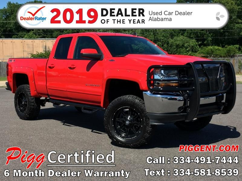 2018 Chevrolet Silverado 1500 ROUGH COUNTRY LT DOUBLE CAB 4WD