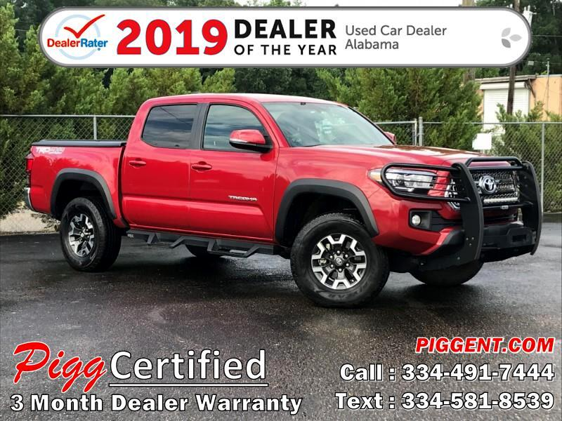 2017 Toyota Tacoma TRD OFF-ROAD DOUBLE CAB 4WD