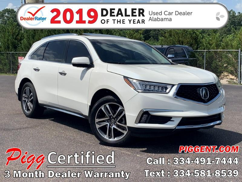 2017 Acura MDX ADVANCE DVD 2WD
