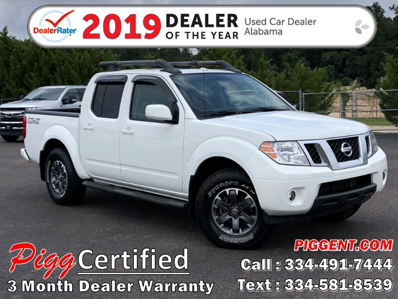 2015 Nissan Frontier CREW CAB PRO-4X 4WD