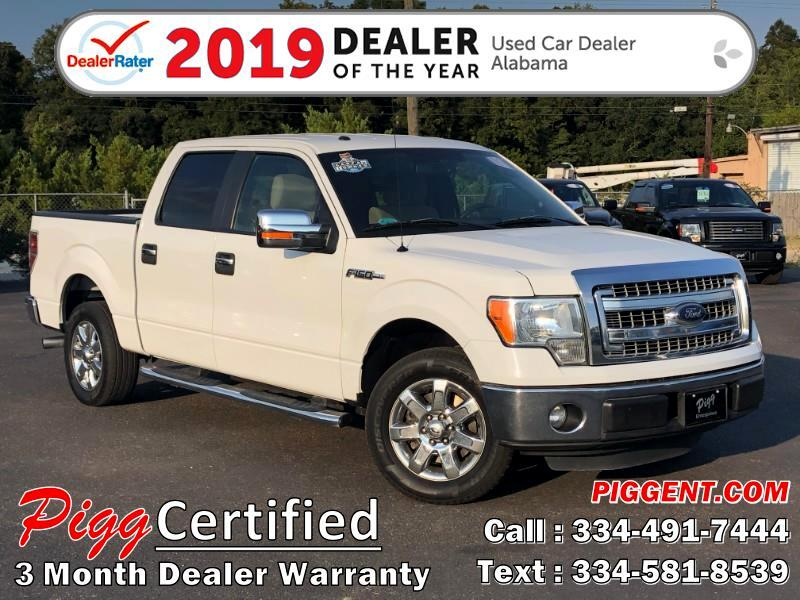2014 Ford F-150 SUPERCREW XLT 2WD