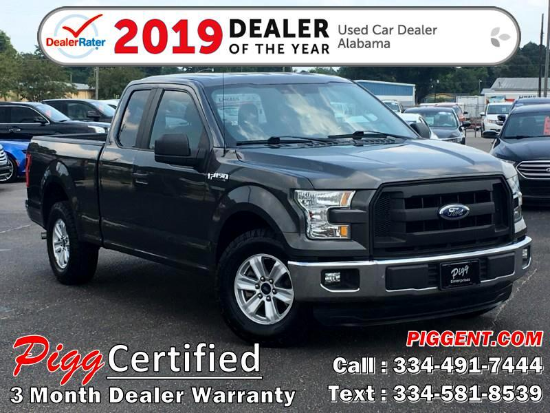 2016 Ford F-150 SUPERCAB XL 2WD