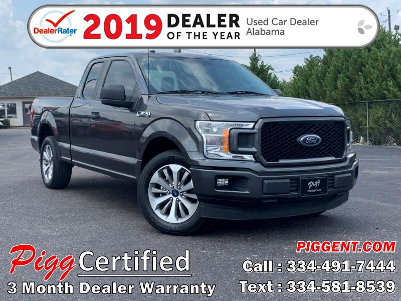 2018 Ford F-150 SUPERCAB XL SPORT 2WD