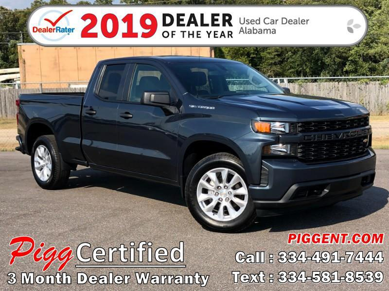 2019 Chevrolet Silverado 1500 DOUBLE CAB CUSTOM 2WD