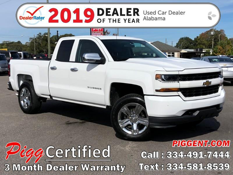 2016 Chevrolet Silverado 1500 DOUBLE CAB CUSTOM 2WD