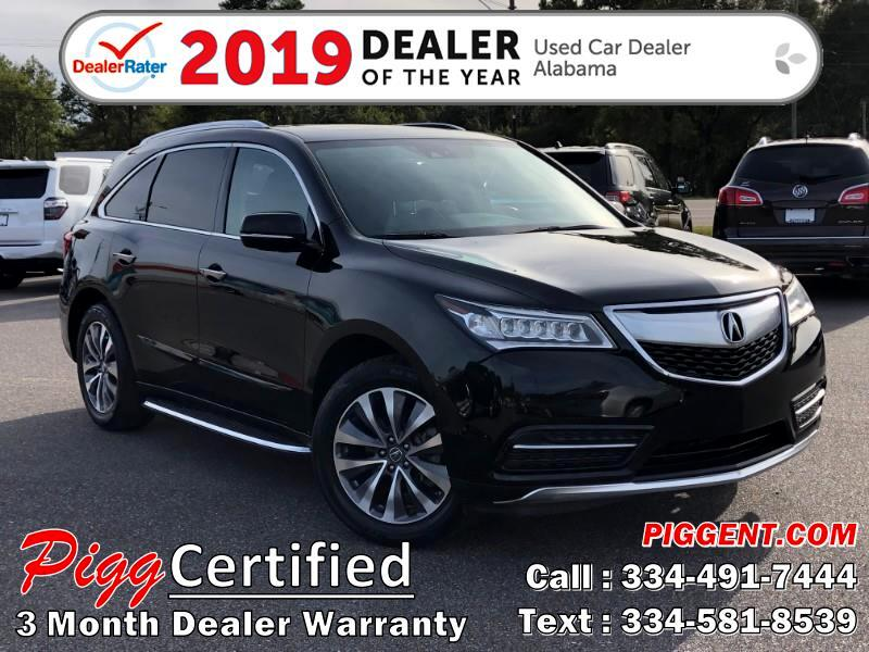 2014 Acura MDX TECHNOLOGY 2WD