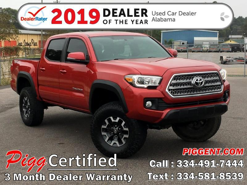 2016 Toyota Tacoma DOUBLE CAB TRD OFF ROAD 2WD