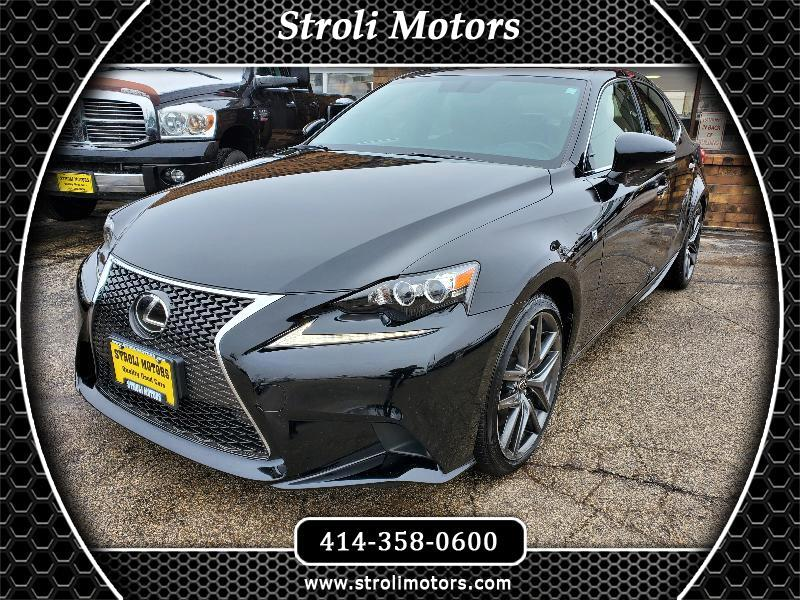 Lexus IS IS 300 F Sport AWD 2016