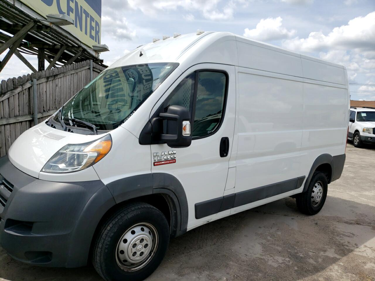 RAM Promaster 1500 High Roof Tradesman 136-in. WB 2015