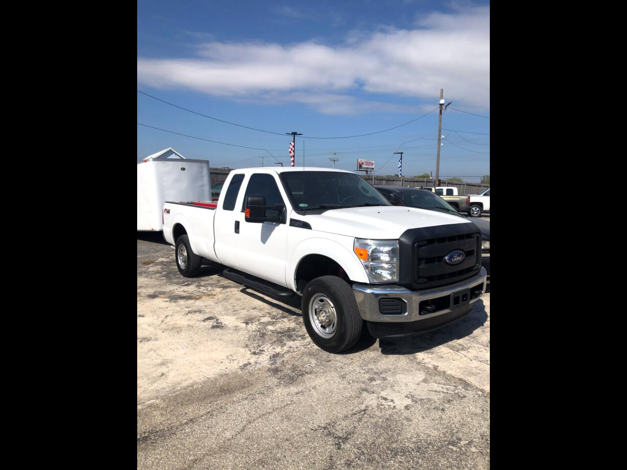 Ford F-250 SD XL SuperCab Long Bed 4WD 2014