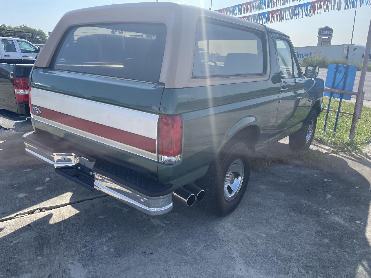 Ford Bronco Custom 1988