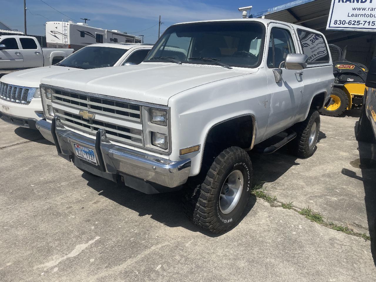 Chevrolet V10 Blazer 4WD 1987