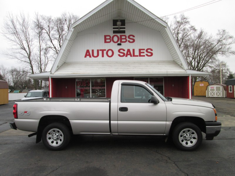 2006 Chevrolet Silverado 1500 Work Truck Long Bed 4WD