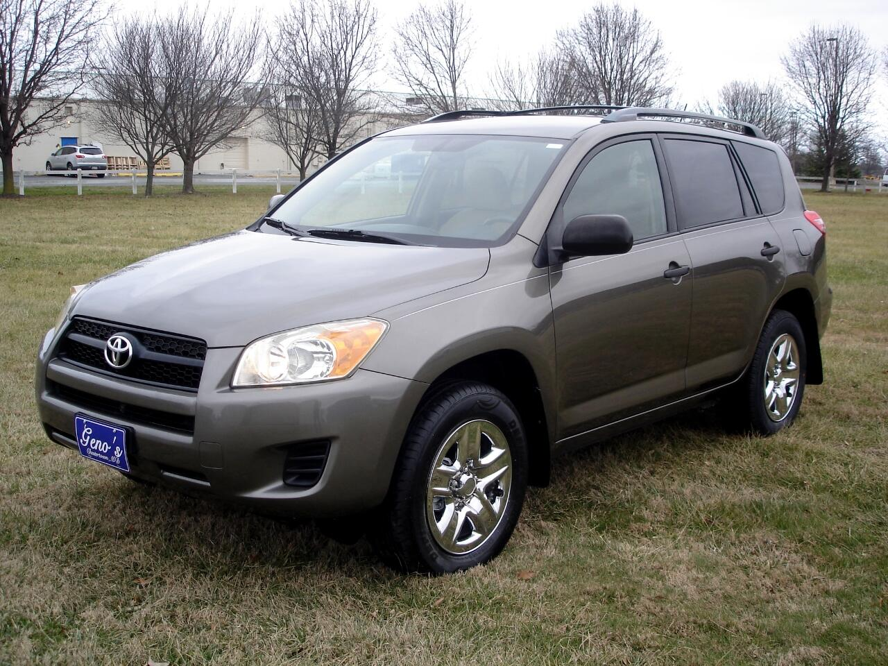 Toyota RAV4 FWD 4dr 4-cyl 4-Spd AT (Natl) 2009