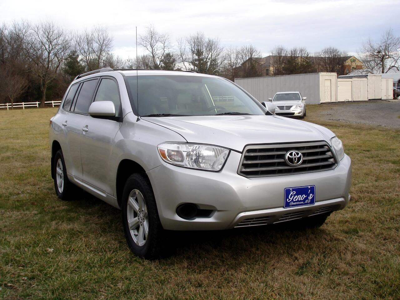 Toyota Highlander 4WD 4dr Base (Natl) 2008
