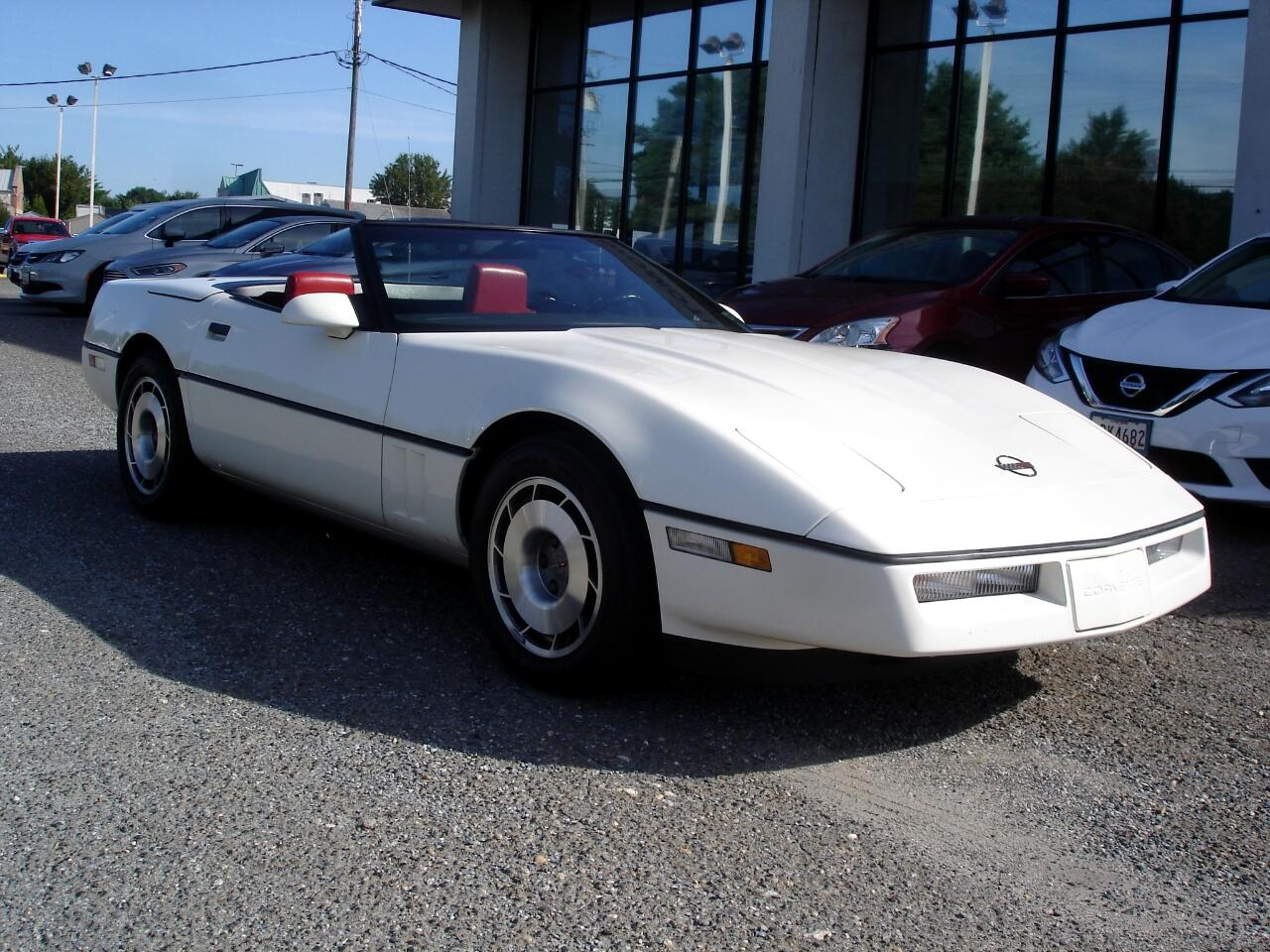 Chevrolet Corvette 2dr Convertible 1987