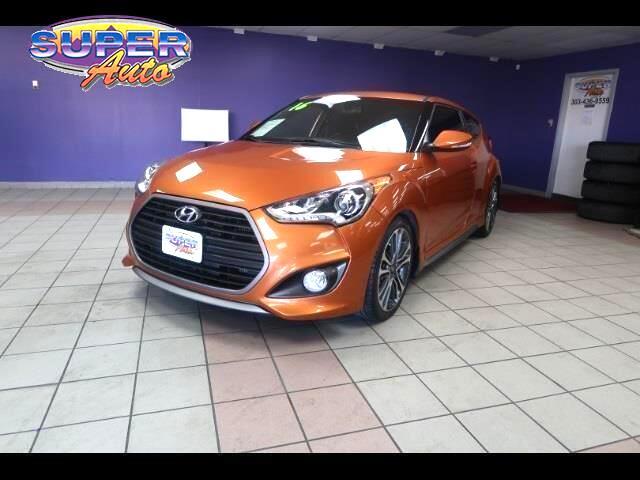2016 Hyundai Veloster 3dr Cpe Auto Turbo w/Orange Accent