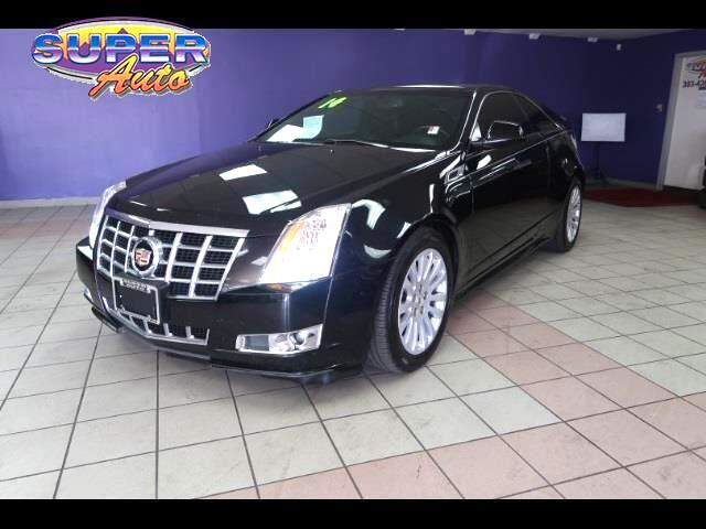 2014 Cadillac CTS 2dr Cpe Performance RWD