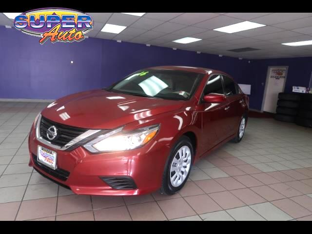 2016 Nissan Altima 4dr Sdn I4 2.5 SR