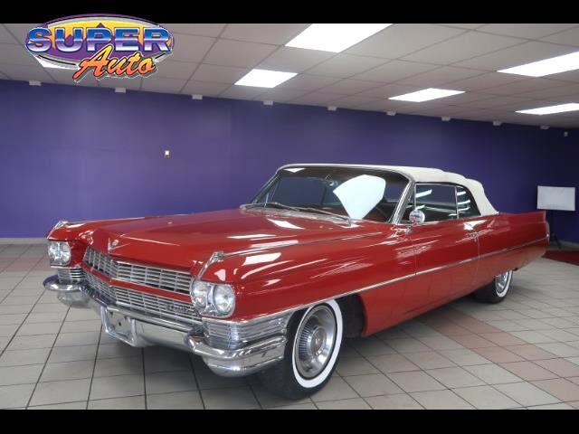 1964 Cadillac DeVille 2dr Coupe