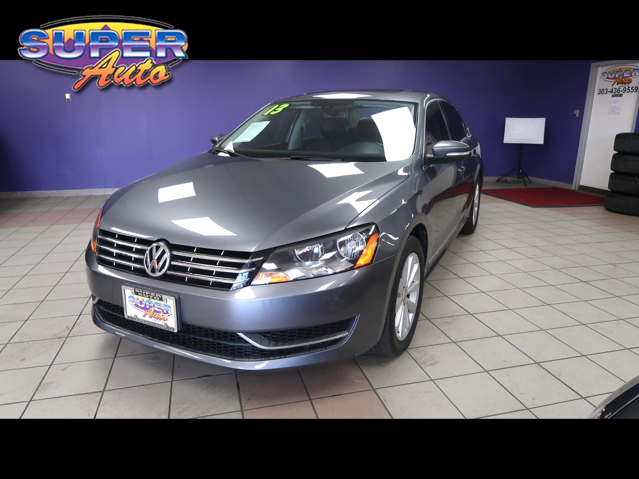 2013 Volkswagen Passat 4dr Sdn 2.5L Auto SEL *Ltd Avail*